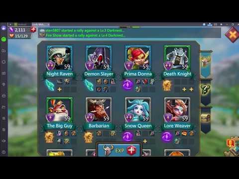 Каких героев стоит использовать при атаке и защите? Гайд по игре Lords Mobile!