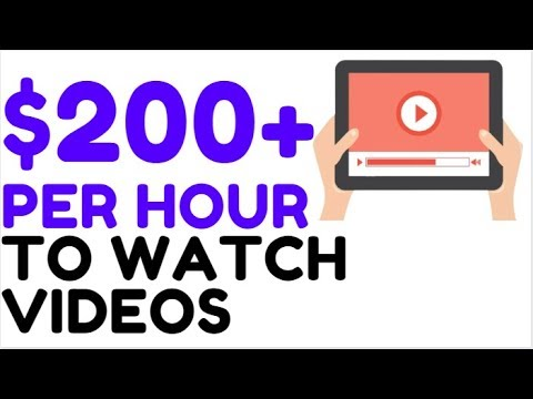 Earn FREE PayPal Money WATCHING VIDEOS (2019!)