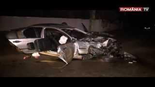 Accident grav cu trei morti si cinci raniti in localitatea Traian, Bacau.