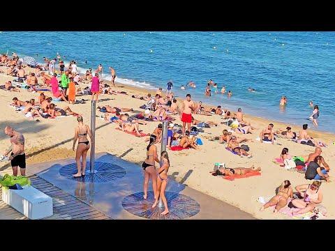 4K WALK BARCELONA Beach REALITY SHOW Spain 4k VIDEO Travel vlogger