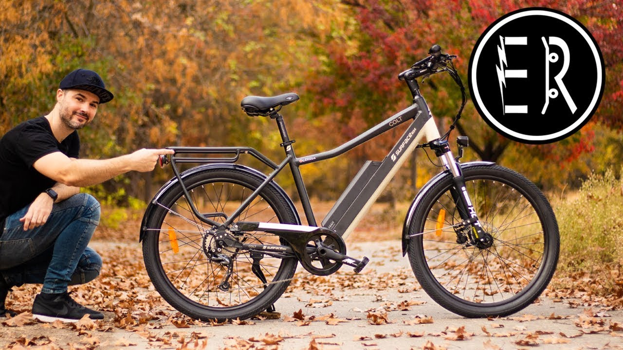 Fastest Electric Bike >> THE BEST URBAN COMMUTER UNDER $2,000!! 2020 Surface 604 Colt electric bike review - YouTube