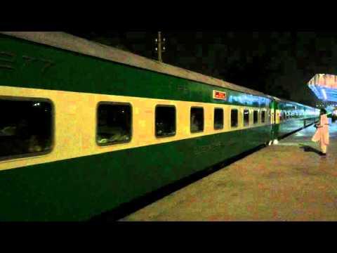 Pakistan railways green line 007