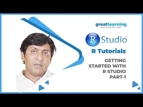 Getting started with R Studio | R Tutorial | Introduction to R | Part-1