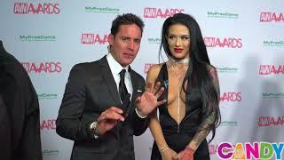 2018 AVN Awards Red Carpet Interview with Katrina Jade