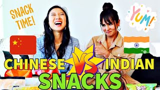 Trying Indian Snacks For The First Time || Sundays With Shu #40