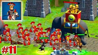 НОВЫЙ ГЕРОЙ РИМСКИЙ КОМАНДИР! 11,000,000 МОНЕТ! Grow Empire Rome Игры на андроид 11 серия