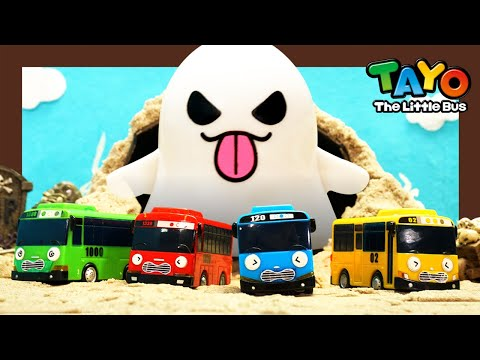 Ghosts, Ghosts And Ghosts! They Are Following Tayo! L Tayo Monster Police L Tayo The Little Bus