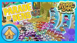 Collection and Hoarding Dens in AJ and Play Wild! | Animal Jam - Parade of Dens