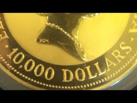 One Kilo Gold Coin: The Australian Nugget