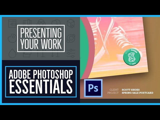 Presenting your Photoshop work for your portfolio - Photoshop CC Essentials [20/86]