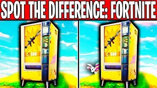 CAN YOU SPOT THE DIFFERENCE?? | Fortnite Image Quiz #1 | w/ MrDalekJD