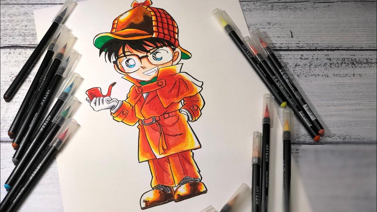 Drawing Detective Conan (Vẽ Thám Tử Conan)