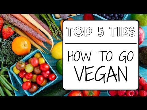 How to Go Vegan | Top 5 Tips