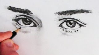 How to Draw Realistic Eyes: Narrated