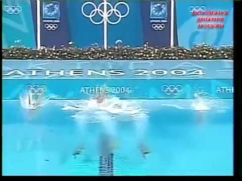 Синхронное плавание  Афины 2004