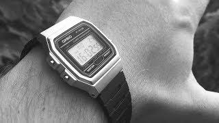 Распаковка и обзор CASIO F-91W. Покупки в интернете. Сломались Swatch. О часах и лишних вещах!