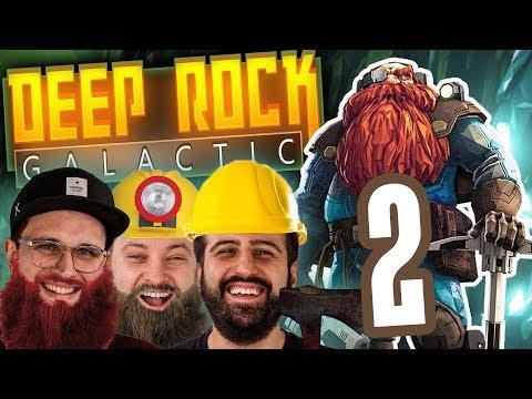 Schattenwolf zockt ZUSAMMEN! | DEEP ROCK GALACTIC 2 | Let's Play / 4K
