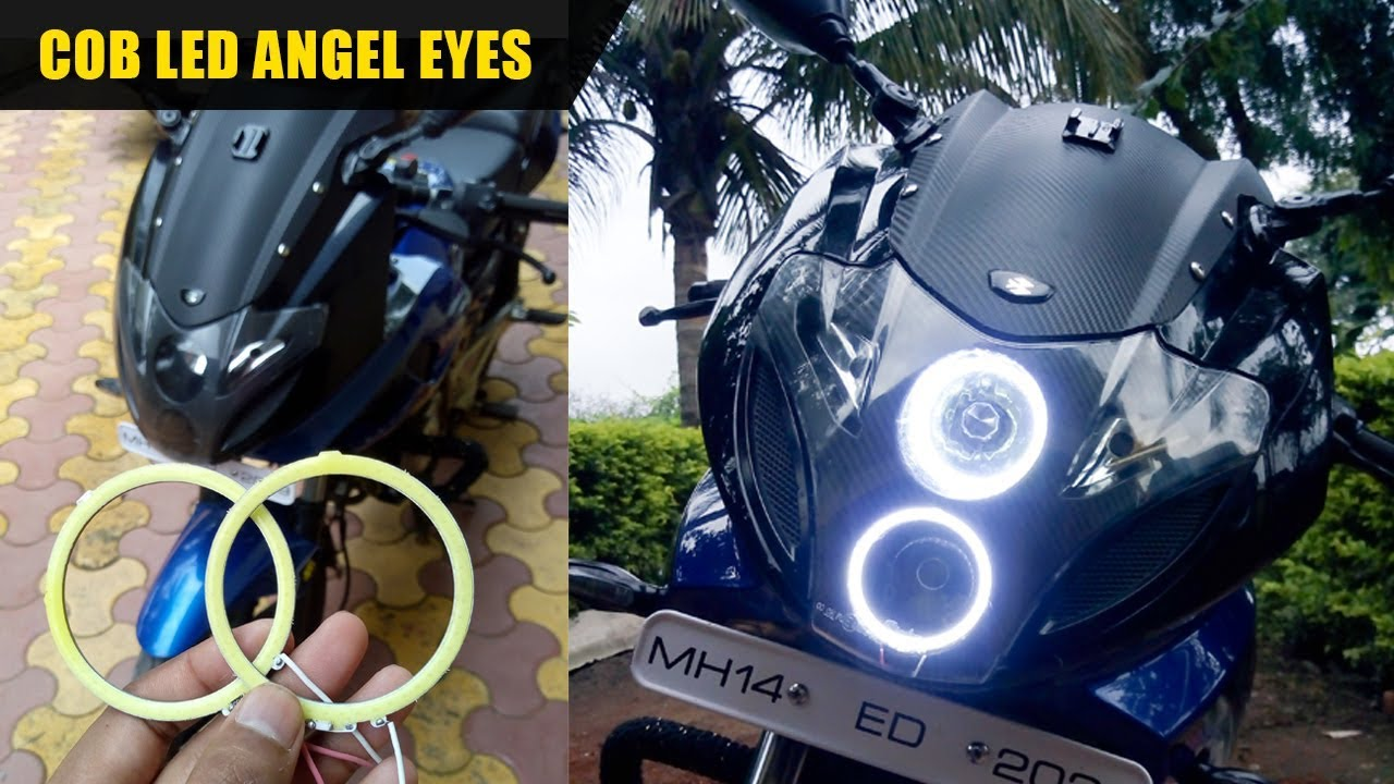 Come installare Angel Eyes In Pulsar 220 - Youtube-4225