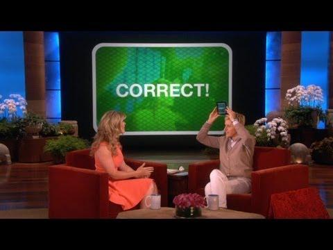 Ellen's New Game, 'Heads Up!'