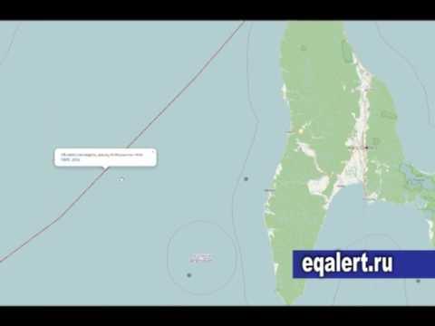 Информационный ресурс по землетрясениям в Сахалинской области