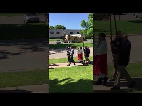 Transfiguration Catholic School - Corpus Christi Procession
