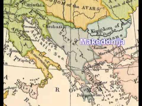 karta evrope karla velikog Evropa 814. godine i Srbi u njoj   YouTube karta evrope karla velikog