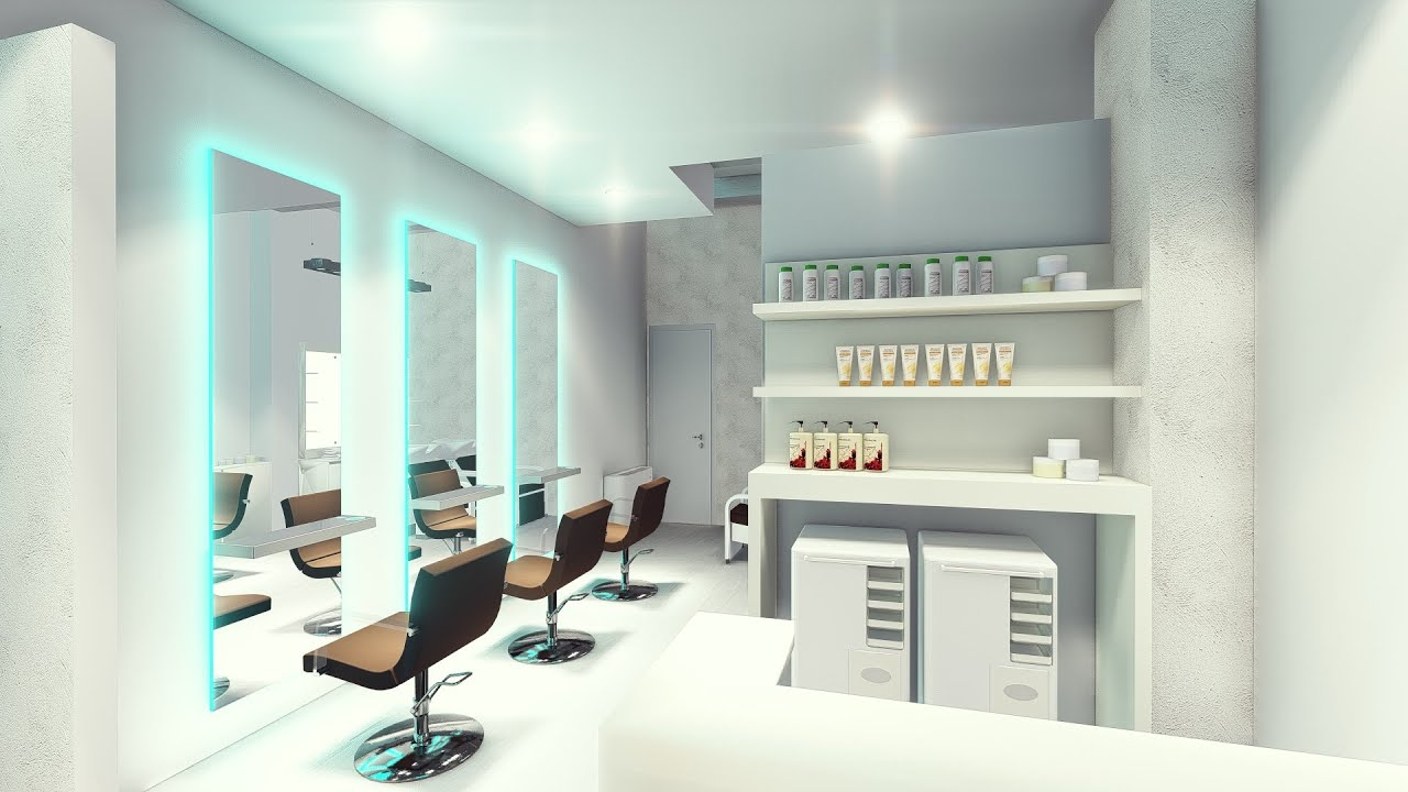 Arredamento parrucchieri akorj restyling salone youtube for Arredamento parrucchieri outlet