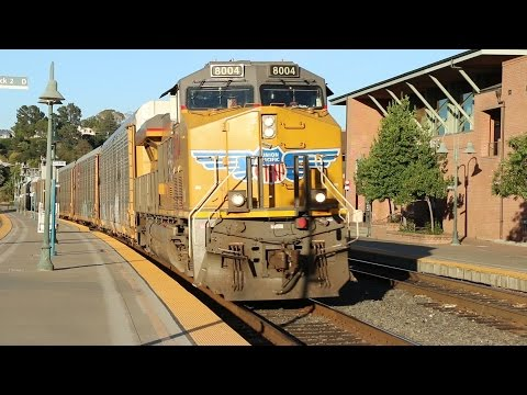 Trains in Martinez, California