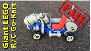 Giant Lego R/C Go-Kart FAILS! - Mantis Hacks E13