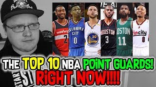 The top 10 nba point guards right now! 2017-2018 nba season
