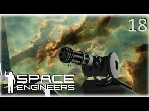 Space Engineers Co-op Survival - 18 - They're coming right for us!