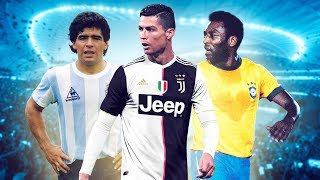 Top 10 football players of all time! - Oh My Goal