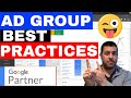 How Many Ad Groups Per Campaign 🔥 Adwords Ad Group Best Practices