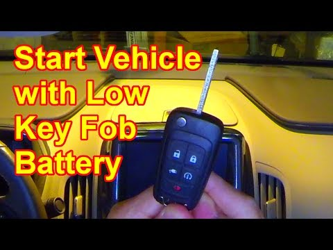 Volt Quick Tips #0035 - Start Vehicle with Low Key Fob Battery