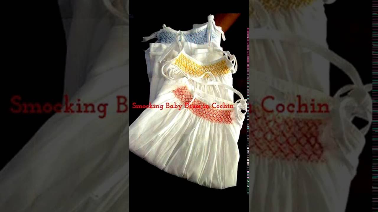 Smocked Baby Dress | Tara Baby Shop in Cochin +91 (484) 6514301 ...