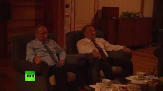 Путин и Назарбаев посмотрели фильм «28 панфиловцев»