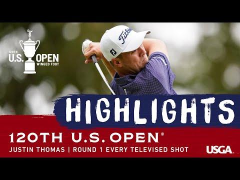 2020 U.S. Open, Round 1: Justin Thomas Shoots 65