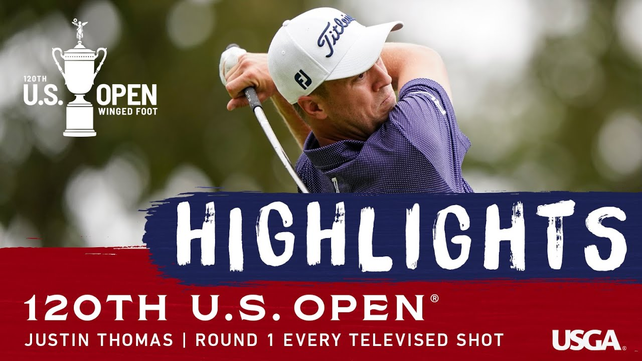 2020 U.S. Open, Round 1: Justin Thomas Shoots 65