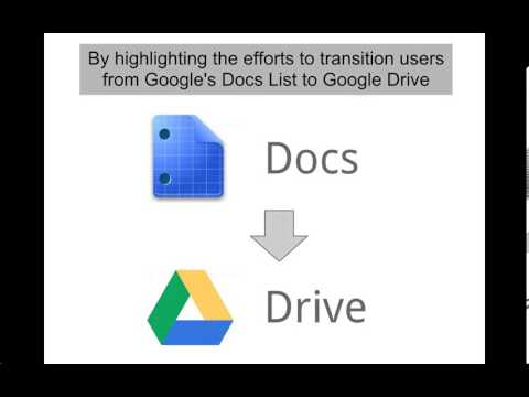 Minimizing change aversion for the google drive launch