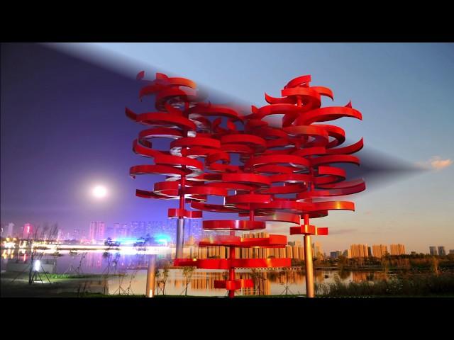 Ralfonso Kinetic Sculpture - LOVING HEART