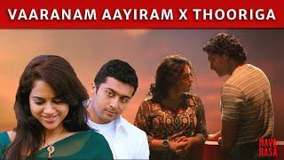 Thooriga X Vaaranam Aayiram  | Guitar Kambi Mele Nindru | Suriya | GVM | Karthik | Navarasa