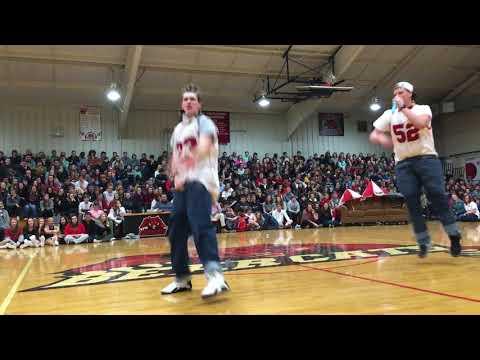 Brookland Senior Class 90's music lip sync