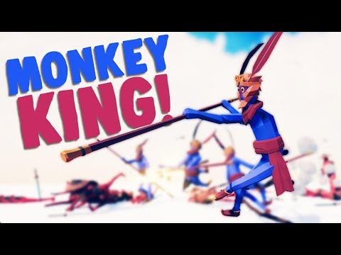 TABS - LEGENDARY MONKEY KING and VIEWER SUGGESTIONS! - Totally Accurate Battle Simulator Gameplay