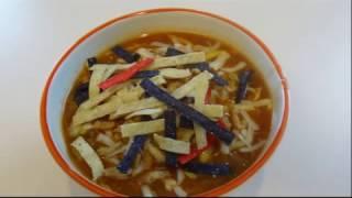 Chicken Tortilla Soup with PrincessNinja