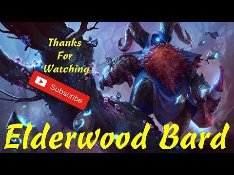 League of Legends: Elderwood Bard Support Gameplay LOL Sorant