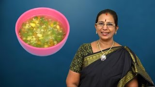 Sweet Corn Vegetable Soup   Mallika Badrinath Recipes