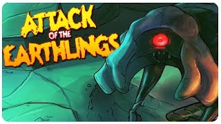 Attack of the Earthlings - Reverse XCOM!   Attack of the Earthlings Gameplay [PC Game]