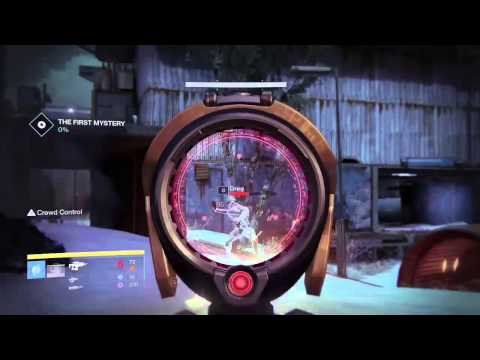 Destiny secret patrol mission on the cosmodrome youtube