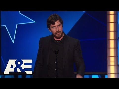 Christian Bale Wins Best Actor in a Comedy  2016 Critics' Choice Awards  A&E