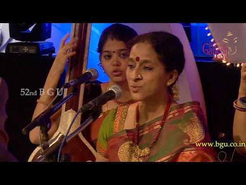 Bombay Jayashree @ 52nd Bengaluru Ganesh Utsava